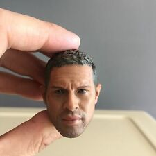 █ Custom Mad Max Tom Hardy 1/6 Head Sculpt for Hot Toys Muscular Body
