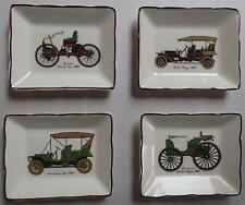 More details for vintage sandland ware set of 4 pin tray veteran car dish rolls royce, ford