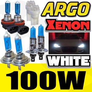 FORD FOCUS MK3 H1 H7 H11 501 LED 100W WHITE XENON HIGH/LOW/FOG/SIDE LIGHT BULBS