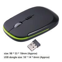 2.4 GHz kabellose kabellose Maus Mäuse optische Scroll für PC Laptop-Computer
