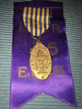 Vintage Masonic Medal and Ribbon, SOJOURNERS NATIONAL