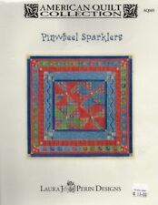 Pinwheel Sparklers Needlepoint Chart - American Quilt Collection - Laura J Perin