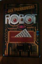 ROBOT- A VINTAGE POP UP BOOK 1981 1ST PRINTING BY JAN PIENKOWSKI