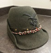 New listing vintage hats for women, Military, 1940's, Green, Excellent Condition, Steampunk