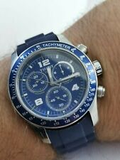 Tissot chronograph blue dial