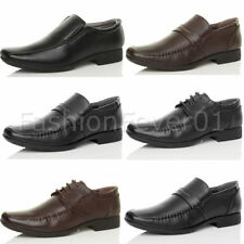 Unbranded Synthetic Leather Lace-up Square Shoes for Men