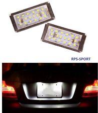 FEUX ARRIERE LED BLANC XENON ECLAIRAGE DE PLAQUE IMMATRICULATION BMW E46 330 CI
