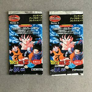 2 Boosters Packs Dragon Ball Z Série 3 Hero Collection Artbox DBZ New Sealed