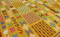 Awragh / Kilim Berbère / Tapis Sabra / Amazigh Tribal / 153 x 101 cm