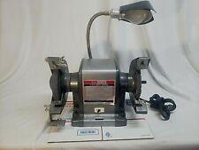 Vintage 1975 Sears Craftsman 1/3 HP Bench Grinder model:  397.19390 - works