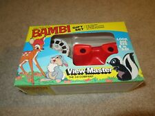 View Master 3D Gift Set Bambi Viewer & 3 Reels 1988 MISB See My Store