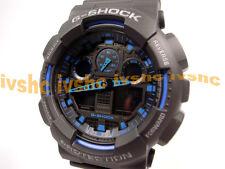 CASIO G-Shock GA100-1A2 GA-100-1A2 Ana-Digi XLarge Free Ship @