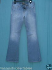 FADED  FOR ALL MANKIND  FLAIR JEANS SIZE 7 ( 27 )