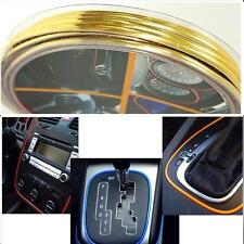CAR DASH PARTS DECORATION TRIM MOULDING 4MM(W) X 5M(L) GOLD