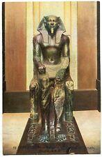 CARTE POSTALE LE CAIRE  MUSEE EGYPTIEN MOMIE DU CONSTRUCTEUR DE LA 2° PYRAMIDE