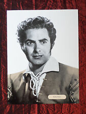 "TYRONE POWER -  FILM STAR - 1 PAGE PICTURE -"" CLIPPING / CUTTING""- #1"