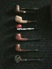 Vintage Lot Of 6 Estate Smoking Pipes ( LOOK )!!!!