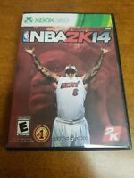 NBA 2K14 (Microsoft Xbox 360, 2013)(Tested)