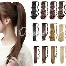 Unbranded Women's Wavy Ponytail Hair Extensions