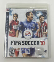 FIFA Soccer 10 (Sony PlayStation 3, 2009) BRAND NEW Factory Sealed PS3