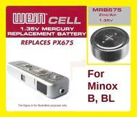 Minox B/BL - Original WeinCell MRB675 1,35 V Photobatterie PX675 LR44