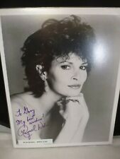 "RAQUEL WELCH     Hand Signed  8 X 10 ""    Photo Autograph  authentic !"