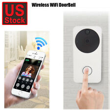 Smart Video Doorbell Pro WiFi 1080P HD Camera with Night Vision Satin Nickel US