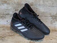 Adidas Predator Football Boots Size 10 Black 18.3