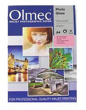 Olmec A4 Heavyweight  Photo Paper - Gloss - 260gsm