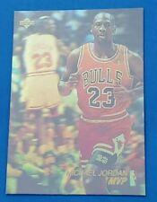 Michael Jordan 1991 Upper Deck Basketball Award Winner MVP Hologram #AW4 BULLS📈