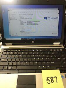 "HP EliteBook 8440p 14"" Laptop 2.40 GHz i5-M 520 8GB RAM (No Battery)"