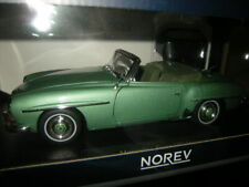 1:18 norev mercedes-benz 190 sl 1957 light green/verde claro nº 183401 en OVP