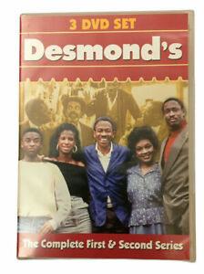 Desmond's: The Complete First and Second Series. (DVD Boxset) Region 2