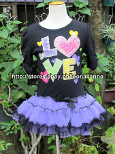 50% OFF! BEAUTEES RUCHED SLEEVES TIERED TUTU DRESS SZ 4 / 3-4 YRS BNEW $15.99