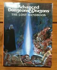 RARE NEVER USED MINT CONDITION The Lost Handbook - Advanced Dungeons and Dragons