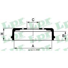 Bremstrommel, 1 Stück LPR 7D0688