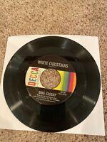 45 Rpm Vinyl Bing Crosby White Christmas / God Rest Ye Merry Gentlemen