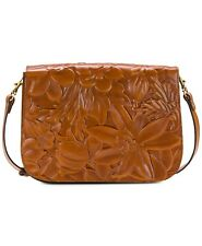 Patricia Nash Deep Embossed Flap Handbag New with Tags and Dust Cover