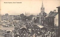 POSTCARD    NORFOLK    GREAT  YARMOUTH    Market  Square
