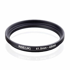 41.5mm to 43mm 41.5-43 41.5-43mm41.5mm-43mm Stepping Step Up Filter Ring Adapter