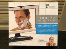 NEW! ToiletTree Fogless Shower Mirror - White Truly fogless! Originally $40