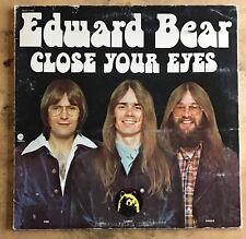 Edward Bear Close Your Eyes 1973 Vinyl LP Gatefold Capitol Records SMAS-11192
