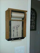 Notes / Memos / Shopping list paper roll dispenser. old-school SMS machine.