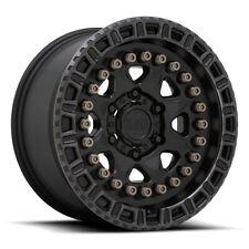 17 Inch Black Wheels Rim Ford F150 Truck 6x135 Lug Black Rhino Carbine 17x85