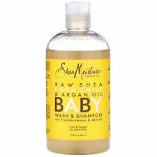 SheaMoisture Baby Wash Shampoo With Frankincense Myrrh 13 fl oz 384 ml