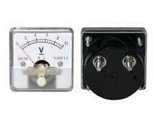 0- 10V DC Voltage Panel Meter Analog, with Internal Current Shunt.
