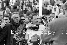 Graham Hill BRM victoria retrato holandés Grand Prix 1962 fotografía