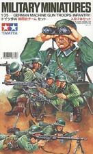 Tamiya 1/35 German Machine Gun Troops # 35038