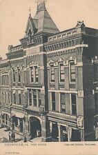 TITUSVILLE PA – Post Office Tuck Postcard – udb (pre 1908)