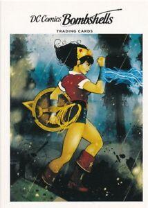 H5 WONDER WOMAN 2017 Cryptozoic DC Comics Bombshells COVERS card